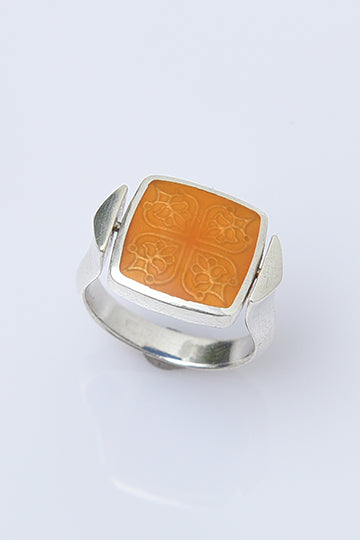 Double Ring Cube - MIRAYJEWELRY