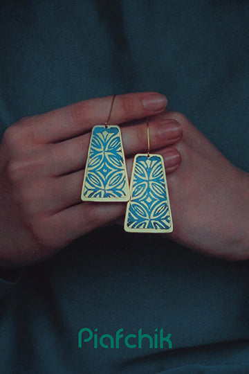 Earrings with Patterns