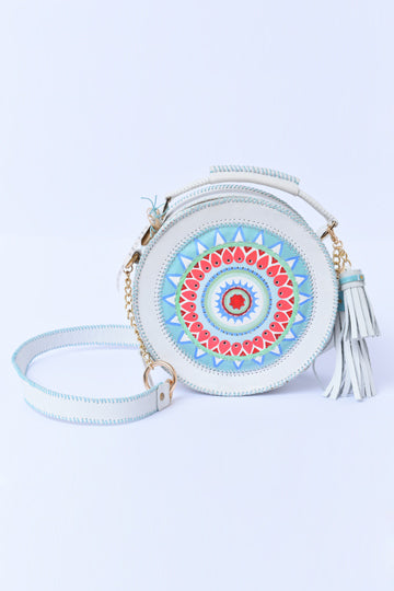 White Leather Bag - MIRAYJEWELRY