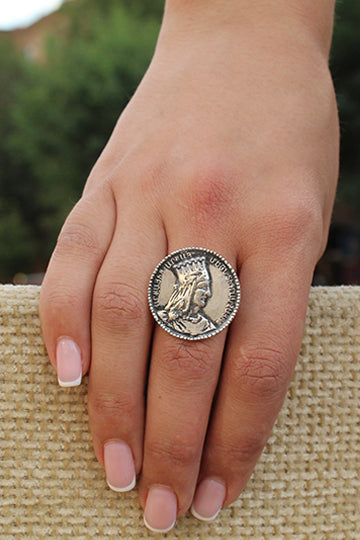 Sterling Silver Tigran The Great Ring - MIRAYJEWELRY