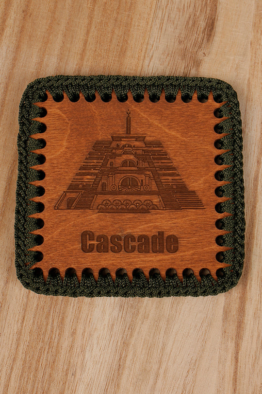 Cascade drink coaster