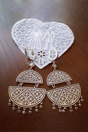Ayntab Retro Earrings