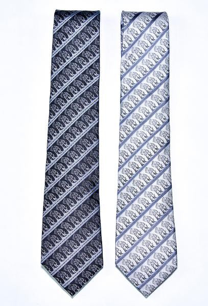 The King's Silk Necktie