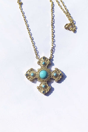 Gold Armenian Cross - MIRAYJEWELRY