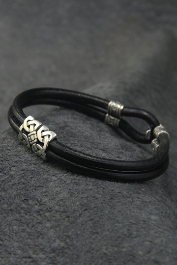 Leather Bracelet - MIRAYJEWELRY