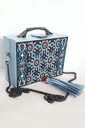 Blue Ornament Bag