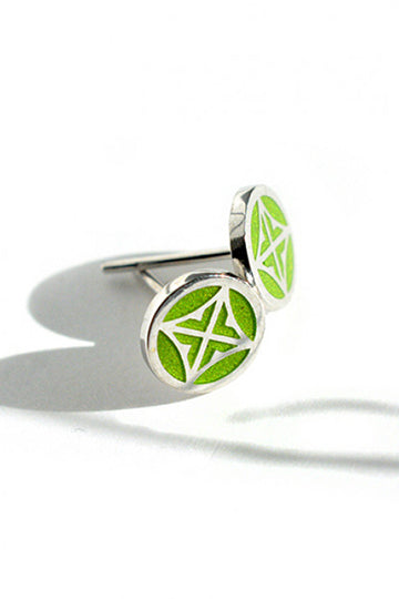 Bright Green Bubble - MIRAYJEWELRY