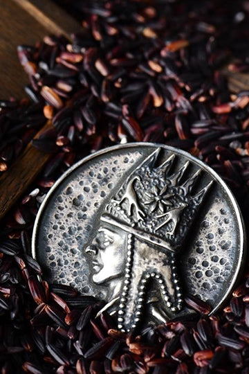 "Round Brooch ""Tigranes the Great"" - MIRAYJEWELRY"