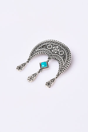 "Brooch with stones ""Daghdghan"" - MIRAYJEWELRY"