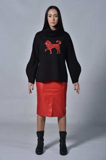 Oversized Dog Sweater - MIRAYJEWELRY
