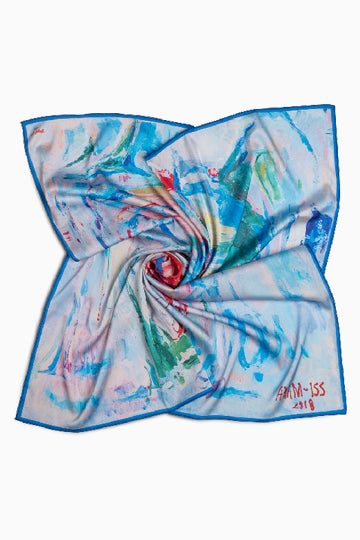 "Scarf ""Early morning"""