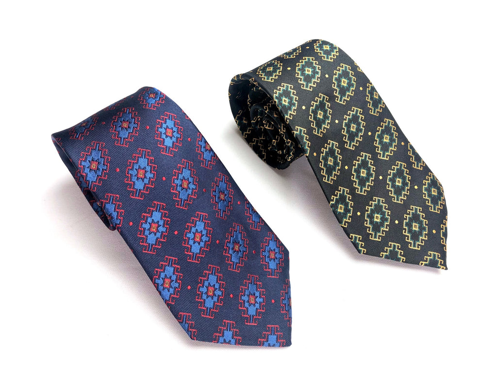 Armenian Rug Silk Neck Tie