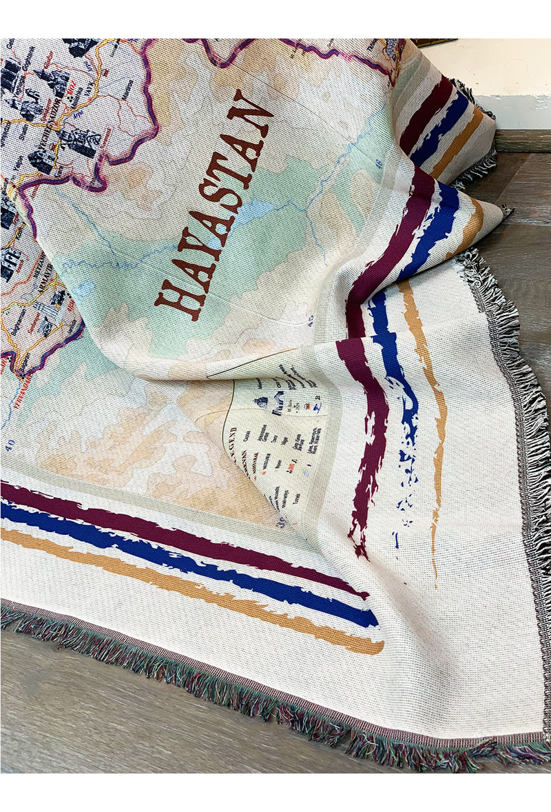 Journey to Armenia Throw/Blanket - MIRAYJEWELRY