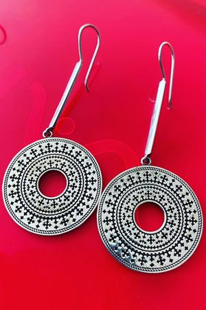 Marash Sun Earrings - MIRAYJEWELRY