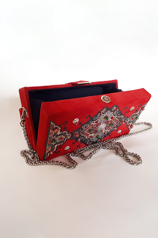 Red Rug Belt Bag