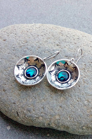 Round Earrings - MIRAYJEWELRY