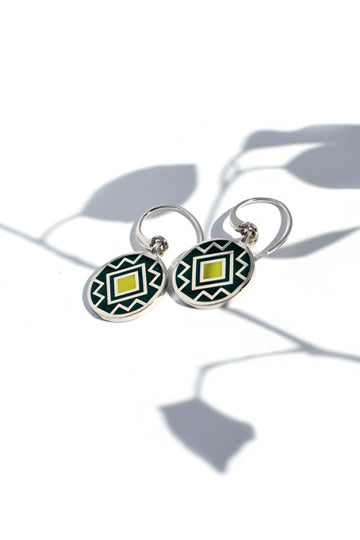 Taraz Earrings Sea Lime - MIRAYJEWELRY