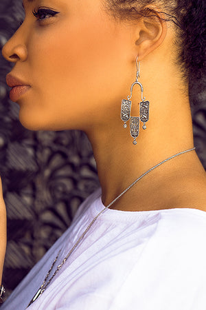 "Earrings ""Van Kingdom"" - MIRAYJEWELRY"