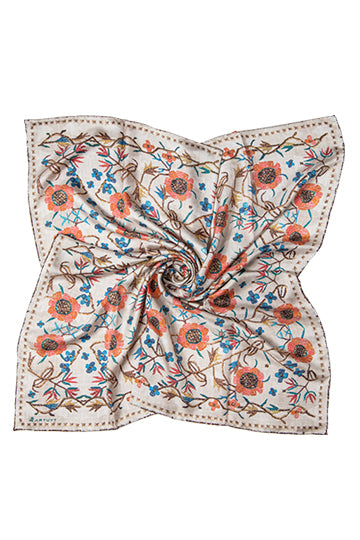 "Silk scarf ""Zabel"""