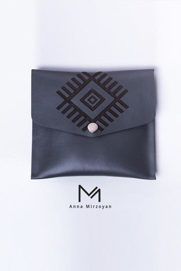 Grey Square Wallet - MIRAYJEWELRY