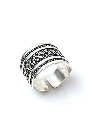 Sterling Silver Be Bold Ring - MIRAYJEWELRY