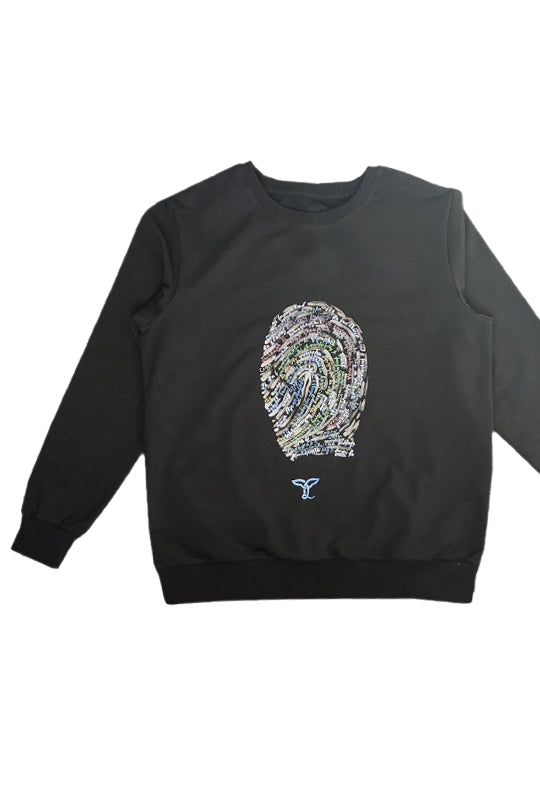 Fingerprint Prayer Sweatshirt