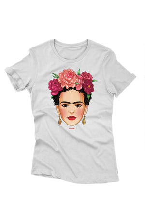 "T-shirt ""Frida"" white - MIRAYJEWELRY"