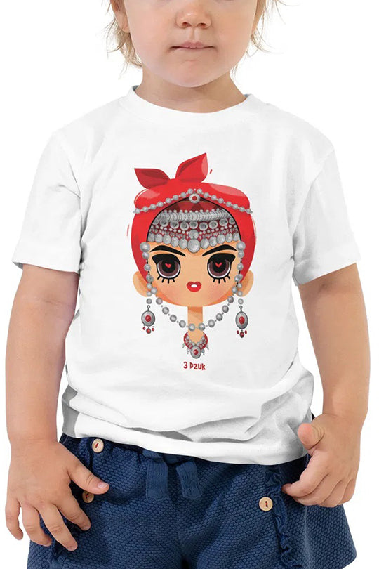 "Kids T-shirt ""Mrut Hayuhi"" white"
