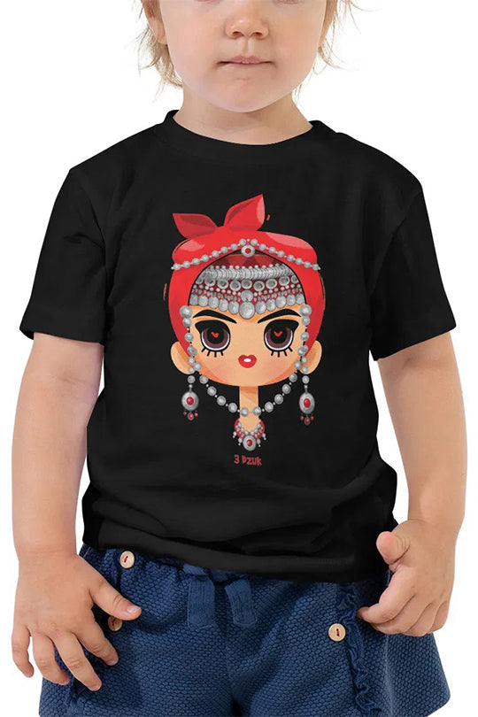 "Kids T-shirt ""Mrut Hayuhi"" black"