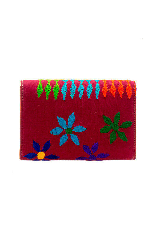 Leila Clutch & Cross Body Handbag - NITYA PINK - MIRAYJEWELRY
