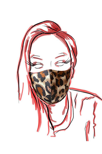 Jaguar Neoprene Face Mask