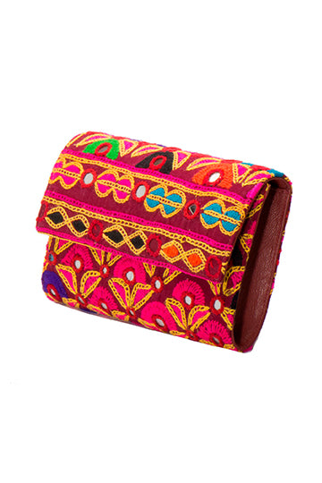 Leila Clutch & Cross Body Handbag - NITYA - MIRAYJEWELRY