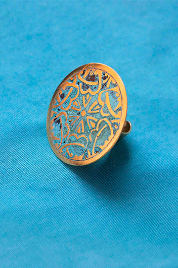 Round Ring with Patterns