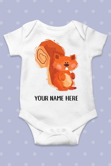 "Baby bodysuit ""Squirrel"" - MIRAYJEWELRY"
