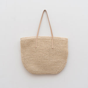 Straw Tote Bag Square