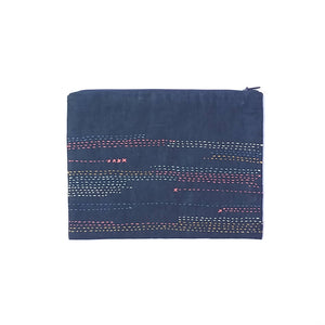 Pattern Embroidery Clutch