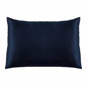 Mulberry Silk Pillowcase - Navy