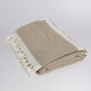 Cotton Handwoven Throw Blanket