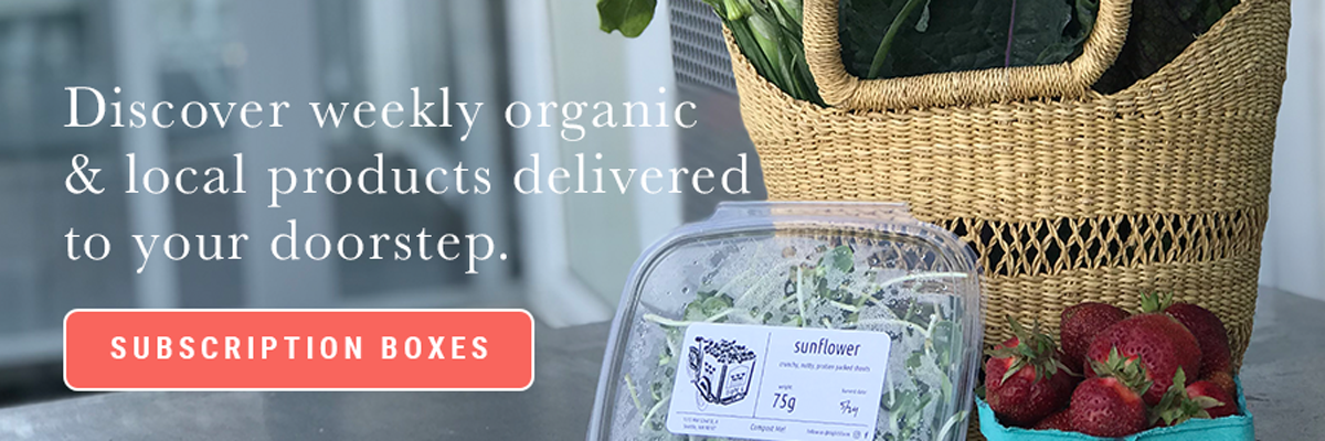 Discover weekly organic & loca products delivered to your doorstep. [SUBSCRIPTION BOXES]