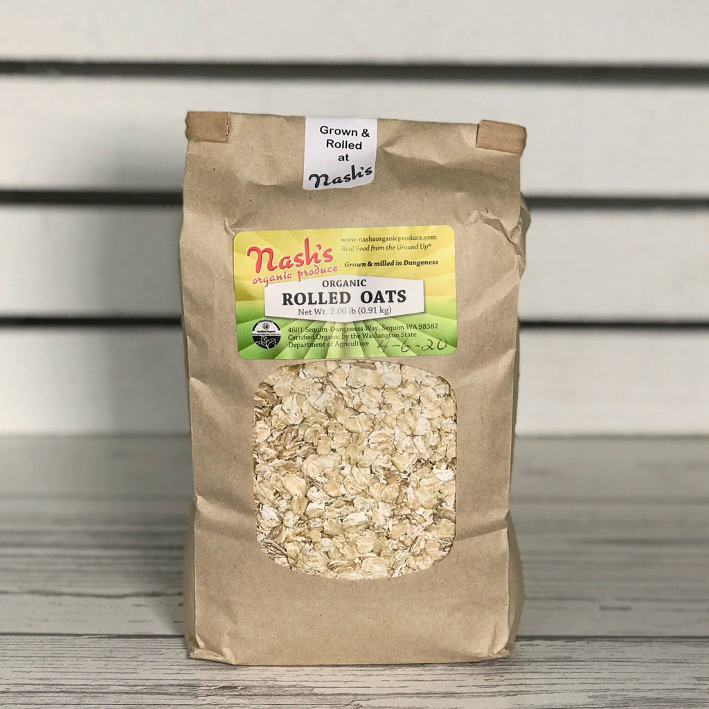 Nash's Organic Produce Organic Rolled Oats