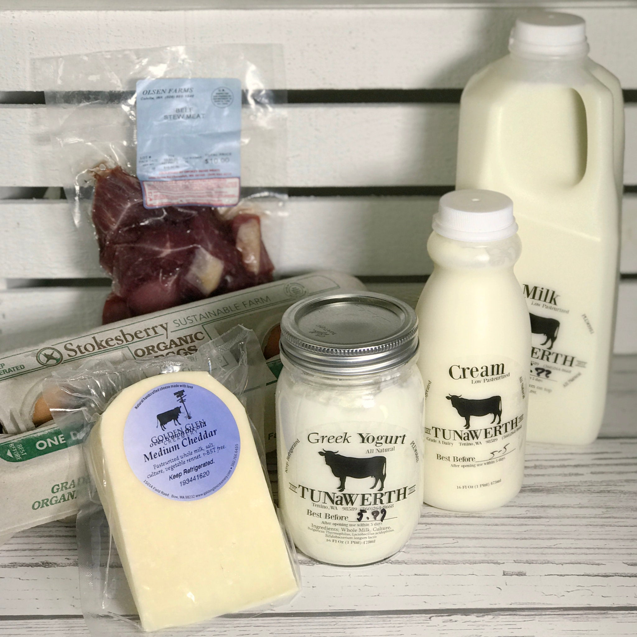 Dairy/Butcher Subscription
