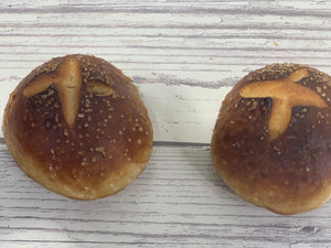 Tall Grass Bakery Pretzel Bun 4-Pack (Only Available Wednesday and Saturday!!)