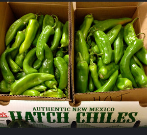 Organic Fresh New Mexico Hatch Chili Peppers