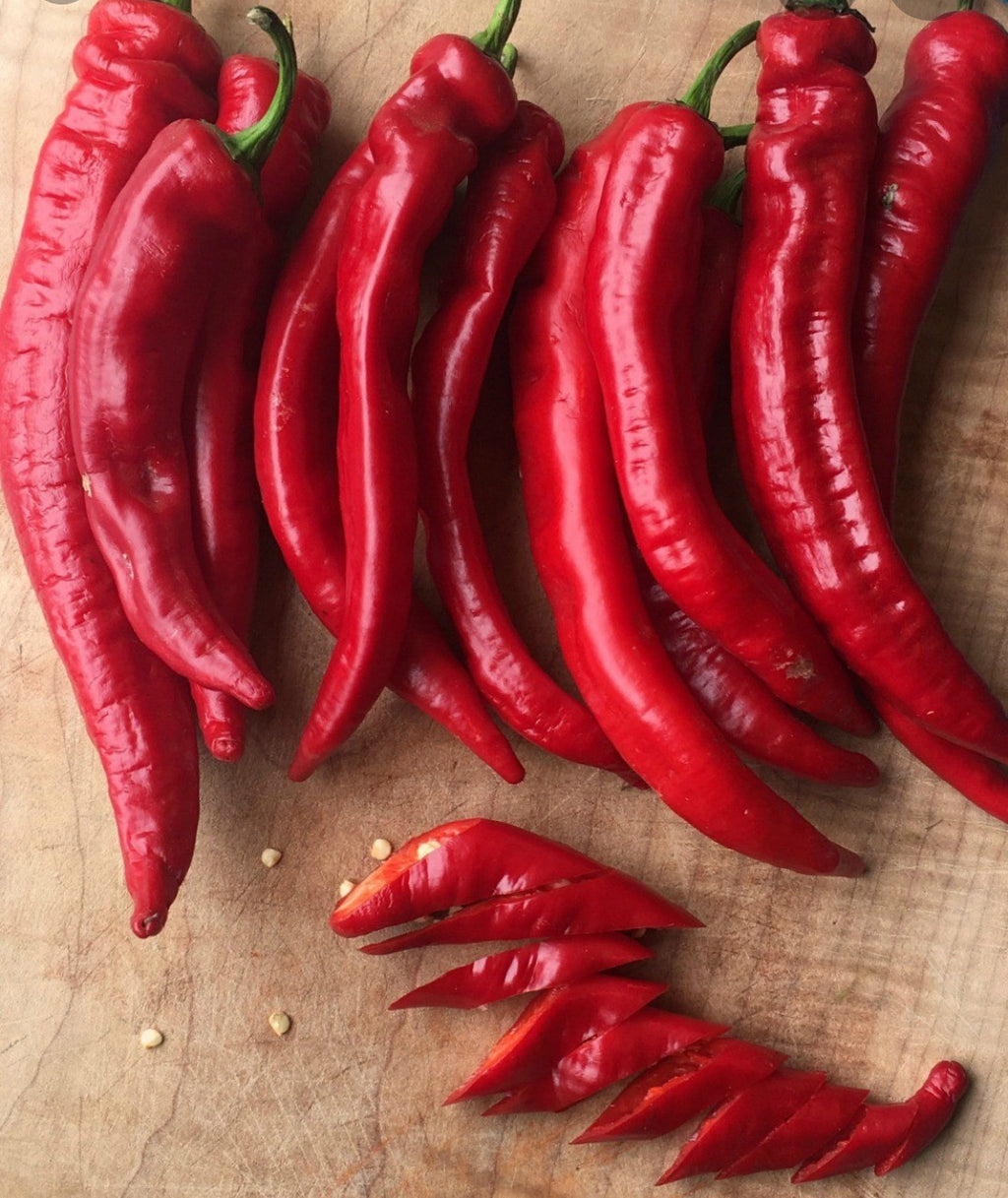 Organic Jimmy Nardello Peppers