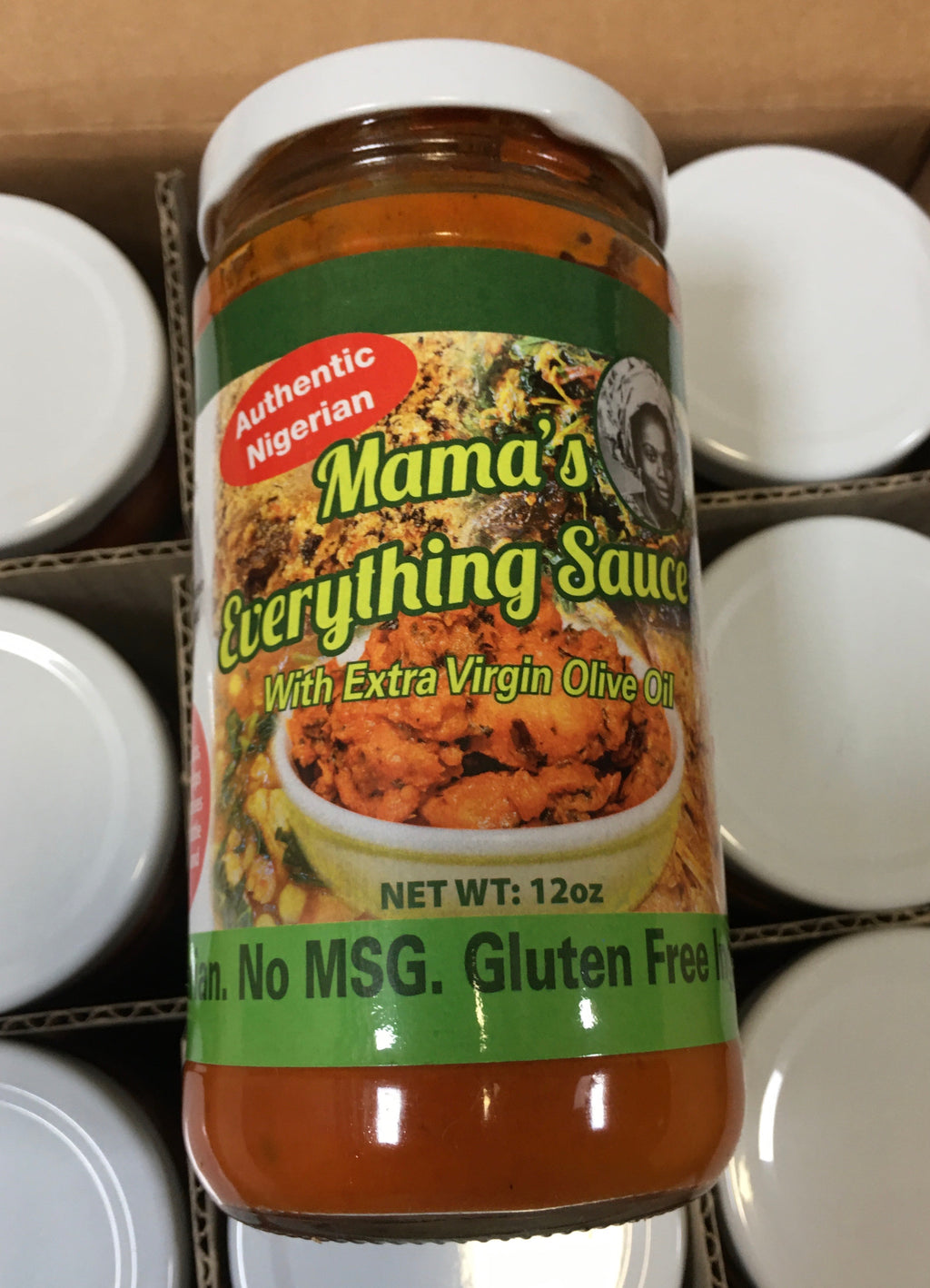 Naija Buka-Mama's Everything Sauce