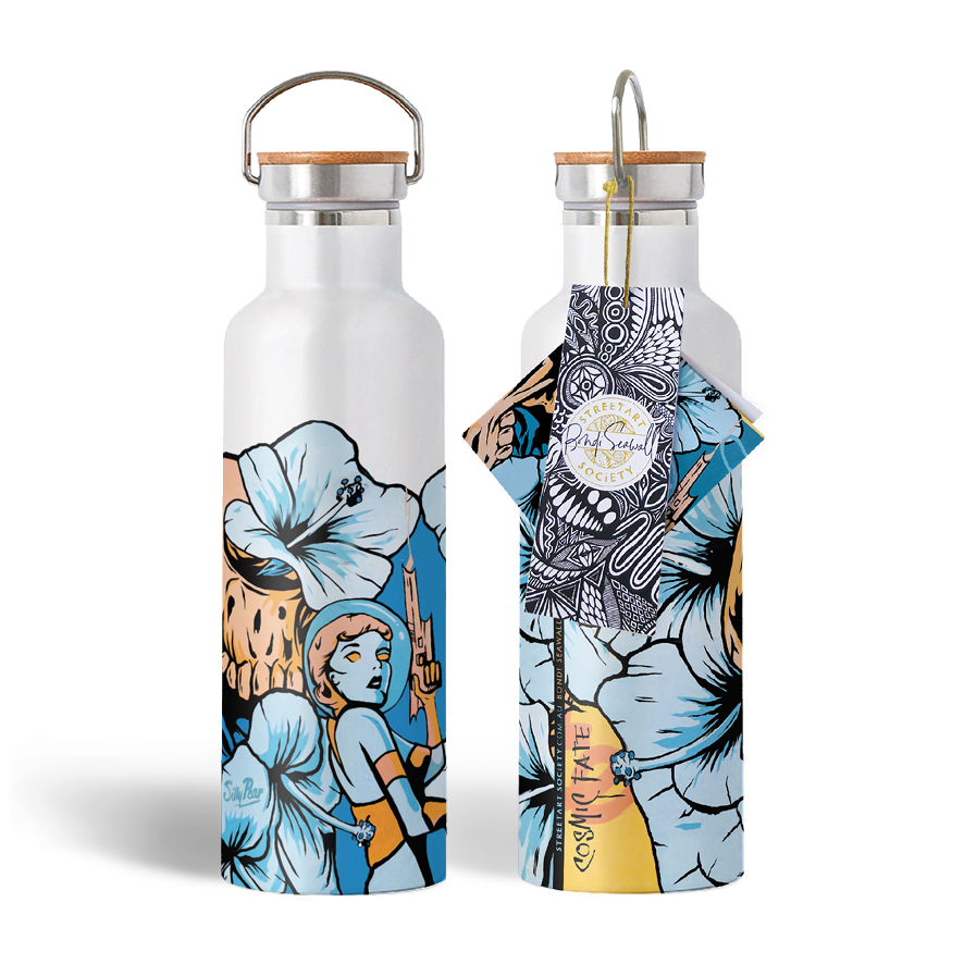 Eco Water Bottle - Cosmic Fate