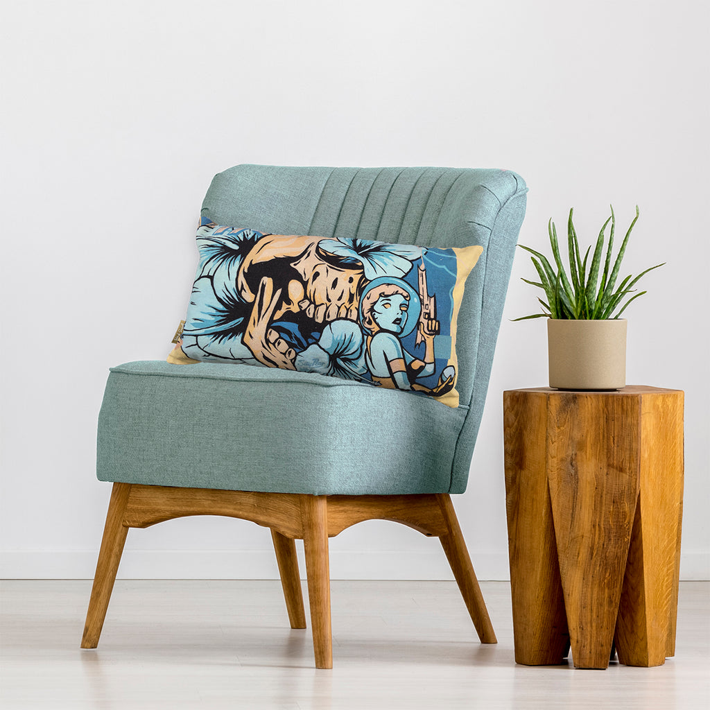 Bondi Seawall Cushion - Cosmic Fate