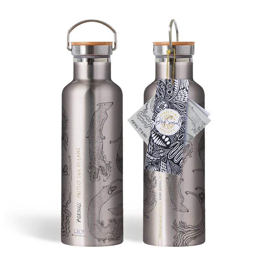 Eco Water Bottle - Merdogs