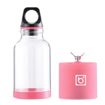 Portable Rechargeable Blender oupseven Pink