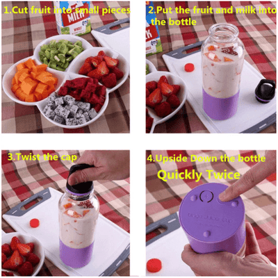 Portable Rechargeable Blender oupseven